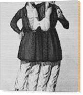 Chang And Eng (1811-1874) Wood Print