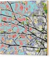 Change To Spring Wood Print