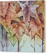Changing Colors Wood Print by Bobbi Price
