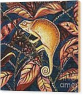 Changing Colors Wood Print