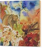 Changing Of The Seasons Wood Print