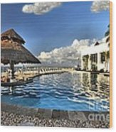 Chankanaab National Park Pool Wood Print