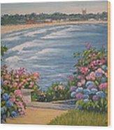 Chanler Garden Wood Print