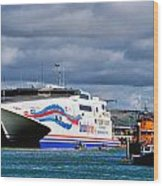 Channel Islands Ferry Wood Print