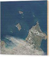 Channel Islands Wood Print