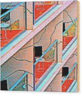 Channeling Mondrian  Wood Print