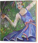 Chanterella Wood Print