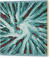 Chaos Genesis II Wood Print