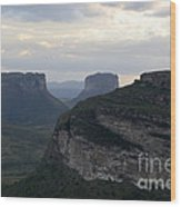 Chapada Diamantina Landscape 2 Wood Print