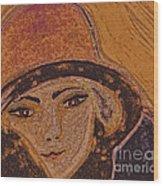 Chapeau By Jrr Wood Print