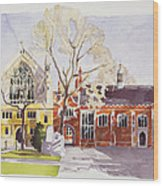 Chapel And Hall  Lincoln's Inn Wood Print