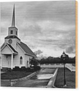Chapel At Four Winds In Conway Arkansas Wood Print