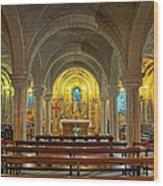 Chapel At Notre Dame Cathedral Verdun Wood Print