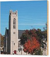 Chapel At The College Of The Ozarks Wood Print