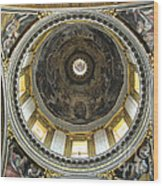 Chapel Dome Wood Print