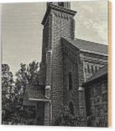 Chapel Wood Print