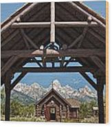 Chapel Of The Transfiguration Wood Print