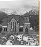 Chapel On The Rock - 5 Wood Print
