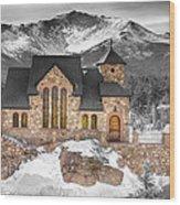 Chapel On The Rock Bwsc Wood Print
