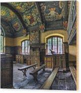 Chapel Paintings Wood Print