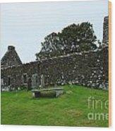 Chapel Ruins At Dunvegan Wood Print