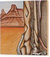 Chaps Wood Print