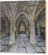 Chapter House Interior Wood Print