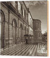 Chapultepec Castle Wood Print