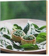 Chard Cake Wood Print