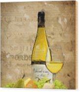 Chardonnay Iv Wood Print