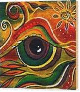Charismatic Spirit Eye Wood Print