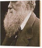 Charles Darwin Wood Print