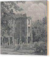 Charles Darwin's Home At Downe, Kent - Wood Print