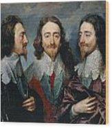 Charles I Wood Print