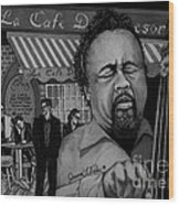 Jazz Charles Mingus Jr Wood Print