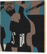Charles Mingus Wood Print