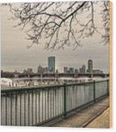 Charles River Charlesgate Yacht Club Wood Print