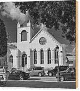 Charles W Drees Methodist Church Wood Print
