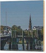 Charleston Charm Wood Print