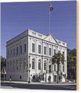 Charleston City Hall Wood Print