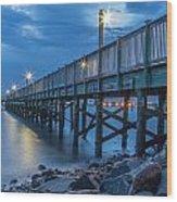 Charleston Harbor 3 Wood Print