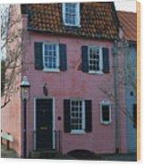 Charleston Historic District Wood Print