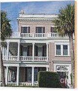 Charleston Home Wood Print