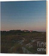 Charleston Lighthouse Wood Print