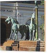 Charleston Place Wood Print