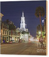Charleston South Carolina Wood Print