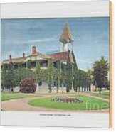 Charlevoix Michigan - The Chicago Club - 1908 Wood Print