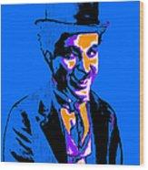 Charlie Chaplin 20130212m145 Wood Print