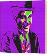 Charlie Chaplin 20130212m78 Wood Print