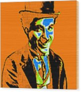 Charlie Chaplin 20130212p28 Wood Print by Wingsdomain Art and Photography